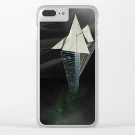 Ark of the Anthropocene Clear iPhone Case