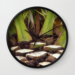 Palm Reeder Wall Clock