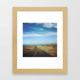 Tomales Point Framed Art Print
