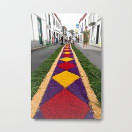 Flower carpet Metal Print