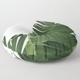 Minimal Banana Leaves Floor Pillow