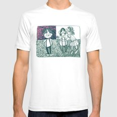 envy White SMALL Mens Fitted Tee