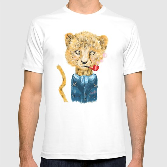 Cheetah Sailor T-shirt