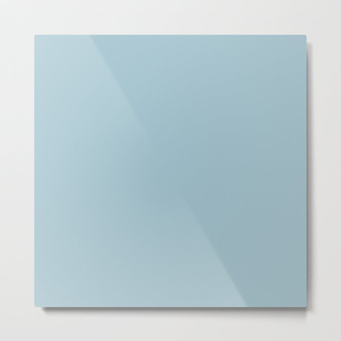 Tropical Waters Blue Metal Print