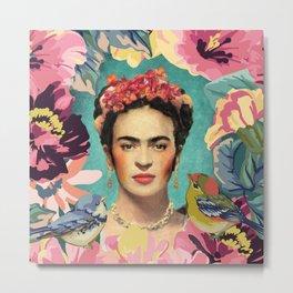 Frida Kahlo V Metal Print