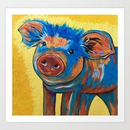 This little piggy! Art Print