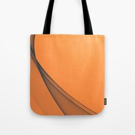 Zen Beach Orange Tote Bag