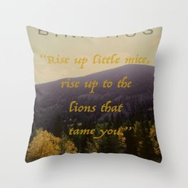 Little Mice Throw Pillow