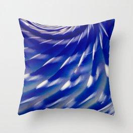 Spiraled Sea Urchin Throw Pillow