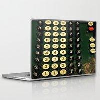 numbers Laptop & iPad Skins featuring Numbers by Hazel Bellhop