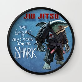 Ground Shark Wall Clock