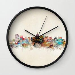 saskatoon canada skyline Wall Clock