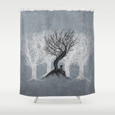 Beneath the Branches Shower Curtain