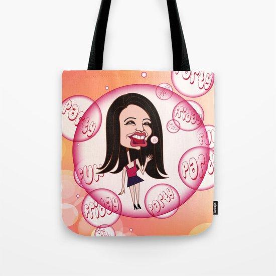 Rebecca Black. It's Friday Again! Tote Bag