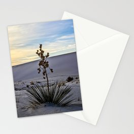Soaptree Yucca in White Sands Stationery Cards