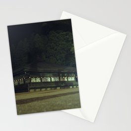 Koyasan temple 1 Stationery Cards