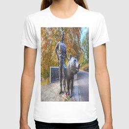 Wojtek The Soldier Bear Memorial Edinburgh T-shirt