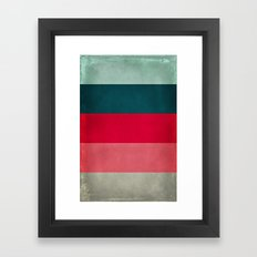 New York City Hues Framed Art Print