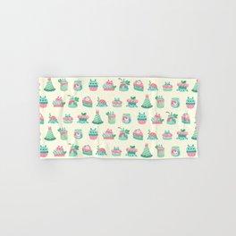 Choco Mint Rabbit Hand & Bath Towel