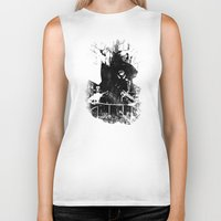 bacon Biker Tanks featuring Bacon I by Federico Leocata LTD
