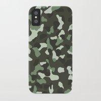 camo iPhone & iPod Cases featuring CAMO by Brukk