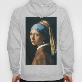 The Girl with a Pearl Earring Hoody