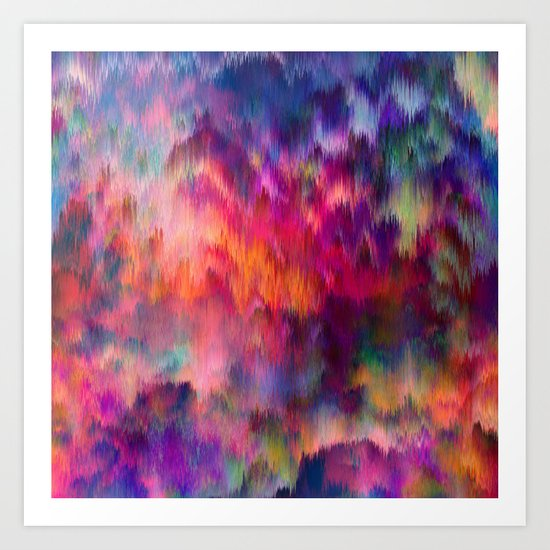 Sunset Storm Art Print