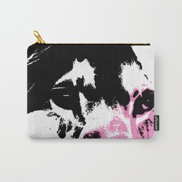 Lion Heart Africa Pink Carry-All Pouch