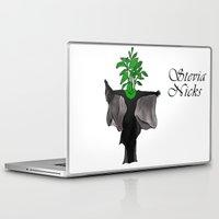 stevie nicks Laptop & iPad Skins featuring Stevia Nicks by Pattavina