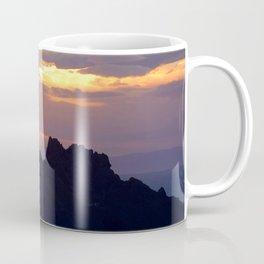 Watercolor Sunset, Heimaey 10, Iceland Coffee Mug