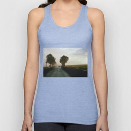 Drive into the Mist Unisex Tank Top
