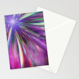Colorful star  Stationery Cards