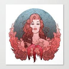 Trinity Goddess Series   Mother Canvas Print