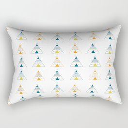 Retro Teepees Rectangular Pillow