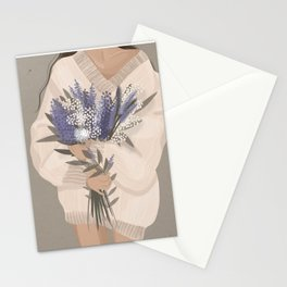 Got myself some Spring Flowers Illustration Stationery Cards