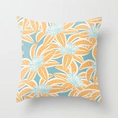 Sunny Tropics 3 Throw Pillow