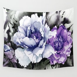 FLOWER PAINTING1 Wall Tapestry