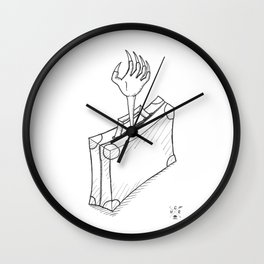 Newt's Bag. Wall Clock