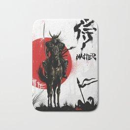 Samurai Master Bath Mat
