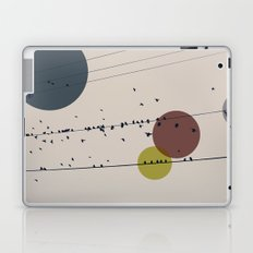 Chaos On The Wires Laptop & iPad Skin