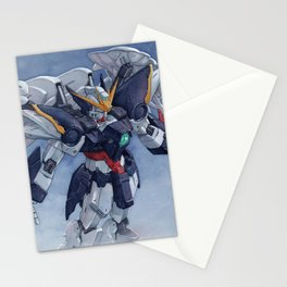 Gundam wing Zero cut ver. Stationery Cards