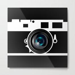 Camera Lens Metal Print