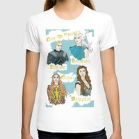 daenerys T-shirts featuring Game Of Thrones  by JessicaJaneIllustration