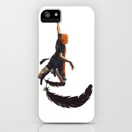 karasuno jump smash iPhone Case
