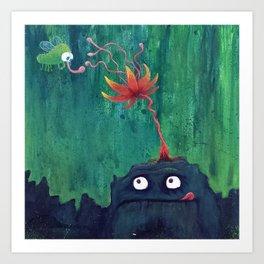 Monsters: Frank Art Print
