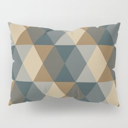 Caffeination Geometric Hexagonal Repeat Pattern Pillow Sham