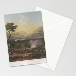 Nebel & Bayot - The Mexican-American War 02: The Capture of Monterrey (1851) Stationery Cards