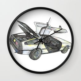 DMC - Delorean Wall Clock