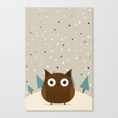 Cute owl Canvas Print