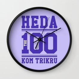 Heda Kom TriKru Wall Clock
